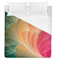 Modern Colorful Abstract Art Duvet Cover (queen Size)