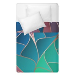 Modern Colorful Abstract Art Duvet Cover Double Side (single Size)