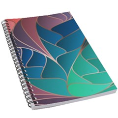 Modern Colorful Abstract Art 5 5  X 8 5  Notebook by tarastyle
