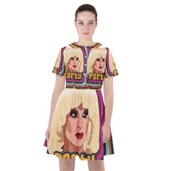 Katya Zamolodchikova Logo Sailor Dress