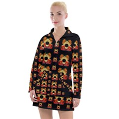 Sweets And  Candy As Decorative Women s Hoodie Dress