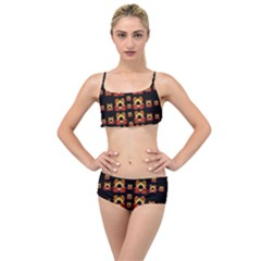 Sweets And  Candy As Decorative Layered Top Bikini Set by pepitasart
