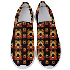 Sweets And  Candy As Decorative Men s Slip On Sneakers by pepitasart