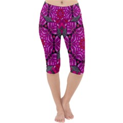 Sweet As Candy Can Be Lightweight Velour Cropped Yoga Leggings by pepitasart
