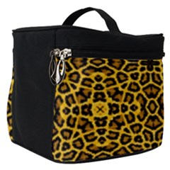 Leopard Stylise Make Up Travel Bag (small)