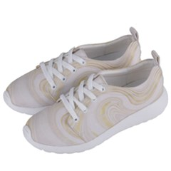 Luxury Gold Marble Women s Lightweight Sports Shoes by tarastyle
