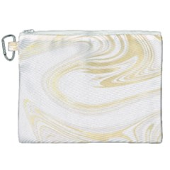 Luxury Gold Marble Canvas Cosmetic Bag (xxl) by tarastyle