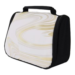 Luxury Gold Marble Full Print Travel Pouch (small)