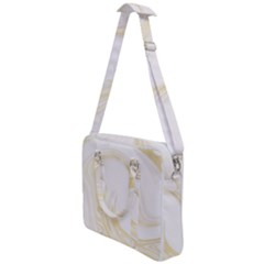 Luxury Gold Marble Cross Body Office Bag