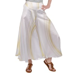 Luxury Gold Marble Satin Palazzo Pants by tarastyle