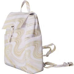 Luxury Gold Marble Buckle Everyday Backpack by tarastyle