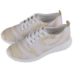 Luxury Gold Marble Men s Lightweight Sports Shoes by tarastyle