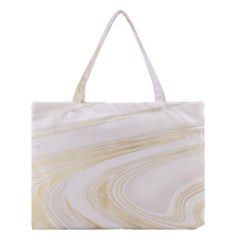 Luxury Gold Marble Medium Tote Bag