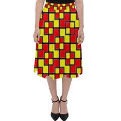 Rby 7 Classic Midi Skirt by ArtworkByPatrick