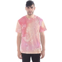 Pastel Salty Watercolor Texture Men s Sports Mesh Tee by tarastyle