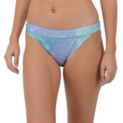 Pastel Salty Watercolor Texture Band Bikini Bottom by tarastyle