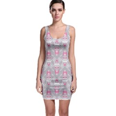 Seamless Pattern Background Bodycon Dress by HermanTelo