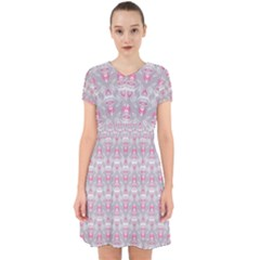 Seamless Pattern Background Adorable In Chiffon Dress by HermanTelo