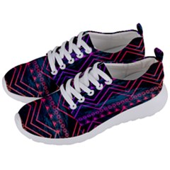 Fancy Tribal Pattern Men s Lightweight Sports Shoes by tarastyle
