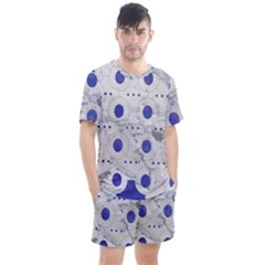 Fancy Tribal Pattern Men s Mesh Tee And Shorts Set by tarastyle