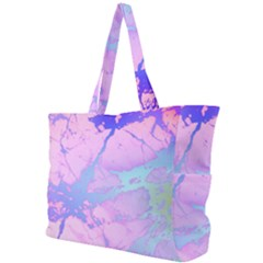 Iridescent Marble Simple Shoulder Bag by tarastyle