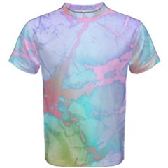 Iridescent Marble Men s Cotton Tee