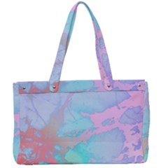 Iridescent Marble Canvas Work Bag by tarastyle