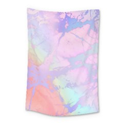Iridescent Marble Small Tapestry by tarastyle