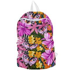 Fancy Tropical Pattern Foldable Lightweight Backpack by tarastyle