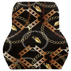 Luxury Chains And Belts Pattern Car Seat Back Cushion  by tarastyle
