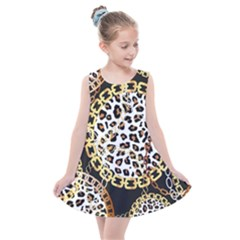 Luxury Chains And Belts Pattern Kids  Summer Dress by tarastyle