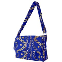 Luxury Chains And Belts Pattern Full Print Messenger Bag