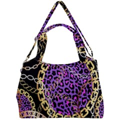 Luxury Chains And Belts Pattern Double Compartment Shoulder Bag by tarastyle