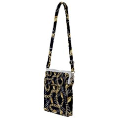 Luxury Chains And Belts Pattern Multi Function Travel Bag by tarastyle