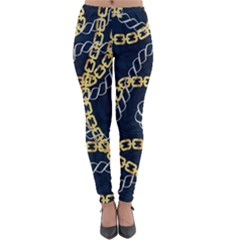 Luxury Chains And Belts Pattern Lightweight Velour Leggings by tarastyle