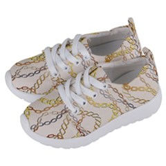 Luxury Chains And Belts Pattern Kids  Lightweight Sports Shoes by tarastyle