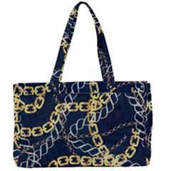 Luxury Chains And Belts Pattern Canvas Work Bag by tarastyle
