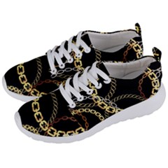 Luxury Chains And Belts Pattern Men s Lightweight Sports Shoes by tarastyle