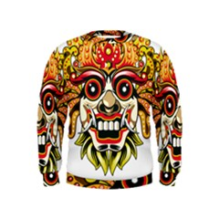 Bali Barong Mask Euclidean Vector Chiefs Face Kids  Sweatshirt