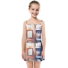 Tardis Doctor Who Transparent Kids  Summer Sun Dress