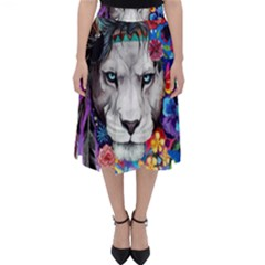 Art Drawing Poster Painting The Lion King Classic Midi Skirt by Sudhe