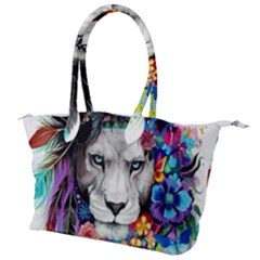 Art Drawing Poster Painting The Lion King Canvas Shoulder Bag