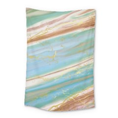 Agate Marble Small Tapestry by tarastyle