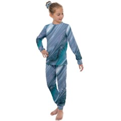 Agate Marble Kids  Long Sleeve Set  by tarastyle
