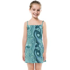 Agate Marble Kids  Summer Sun Dress by tarastyle