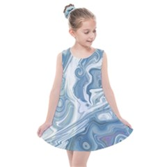 Agate Marble Kids  Summer Dress by tarastyle
