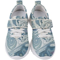 Agate Marble Kids  Velcro Strap Shoes by tarastyle