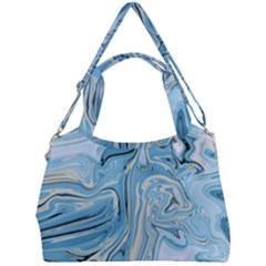 Agate Marble Double Compartment Shoulder Bag by tarastyle
