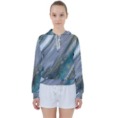 Agate Marble Women s Tie Up Sweat by tarastyle