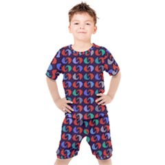 Zappwaits 2 Forever Kids  Tee And Shorts Set by zappwaits